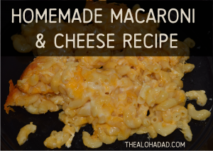 Homemade Macaroni & Cheese Recipe